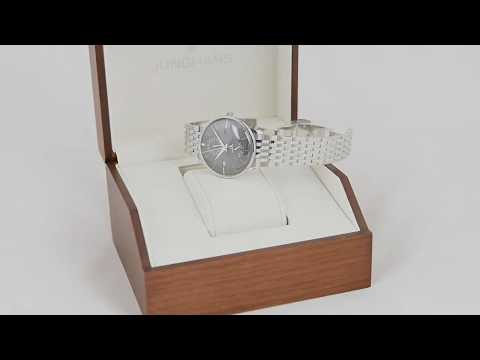 Junghans Max Bill 027/4701.00 from YouTube · Duration:  1 minutes 40 seconds
