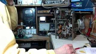 RCA A25 Vacuum Tube Shortwave Radio Video #2 - Extracting the Chassis