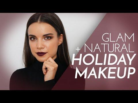 2 Holiday Makeup Looks! Casual  Glam  Ingrid Nilsen