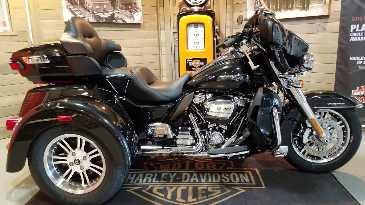 2018 Tri Glide Ultra Harley Davidson: 2018 Harley Davidson Tri Glide FLHTCUTG Black Tempest