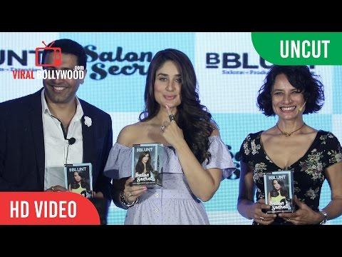 UNCUT - Kareena Kapoor Khan Launch BBLUNT Salon Secret   Adhuna Bhabani, Sunil Kataria