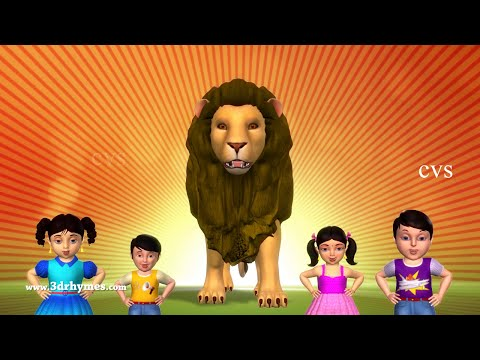 Animal Finger Family 3 | Finger Family Song | Kids Songs | Popular Nursery Rhymes From CVS