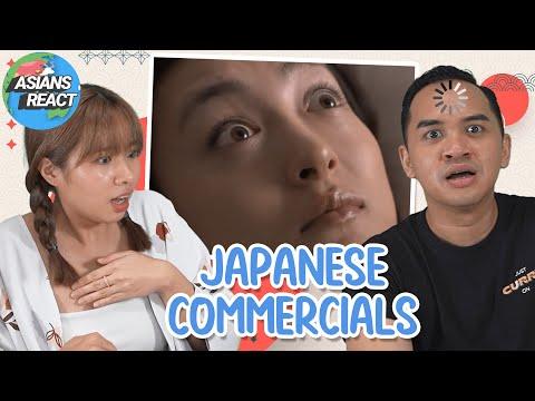 Asians React: Bizarre Japanese Commercials