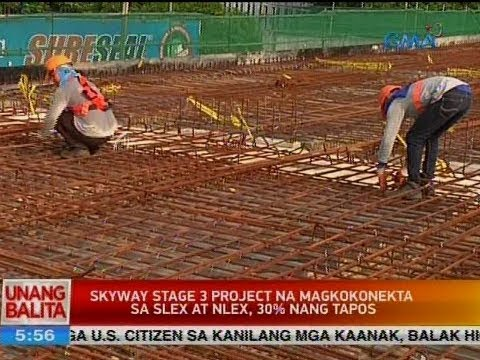 UB: Skyway stage 3 project na magkokonekta sa SLEX at NLEX, 30% nang tapos