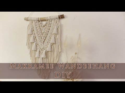 Makramee Wandbehang DIY