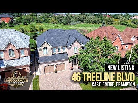 SOLD! 46 Treeline Blvd In Castlemore (Brampton, Canada)