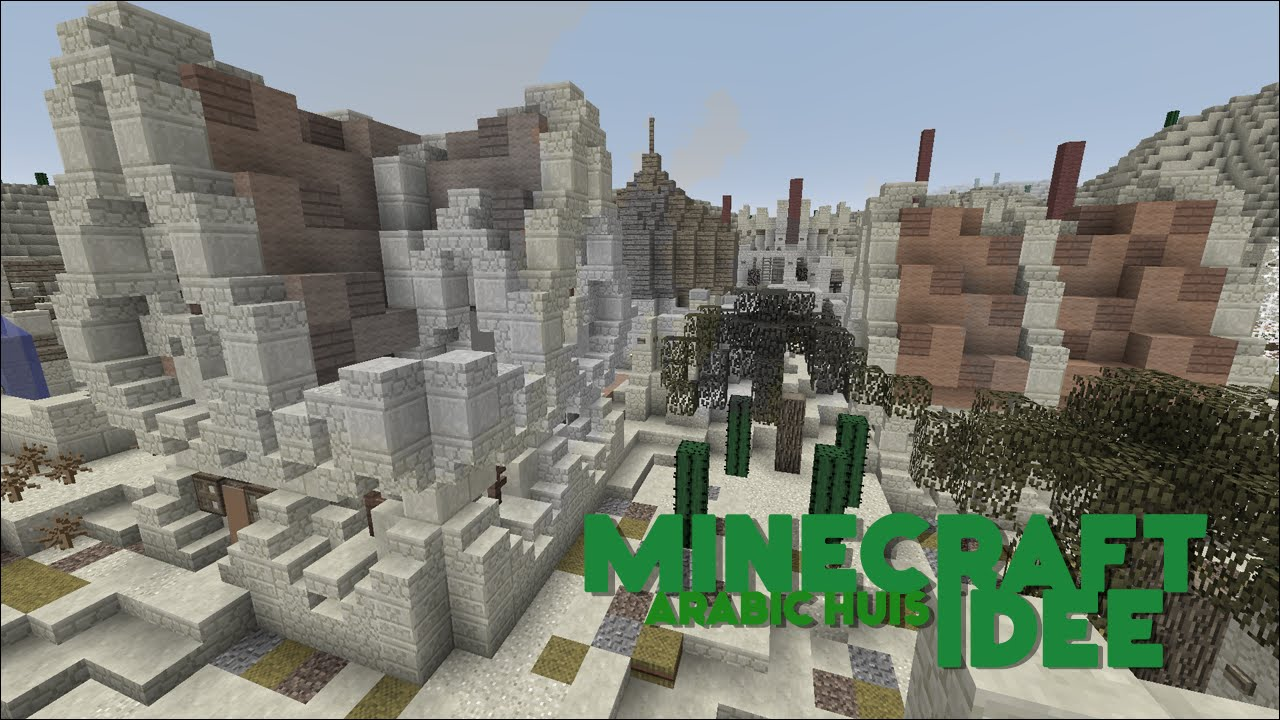 Minecraft idee arabic huis youtube - Huis idee ...