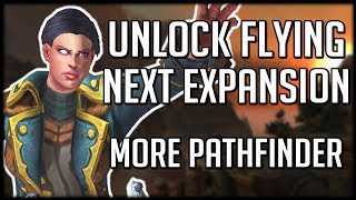 HOW TO UNLOCK FLYING IN BFA - Another Pathfinder Achievement | WoW Battle for Azeroth
