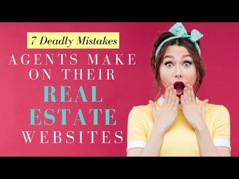 Deadly Mistakes Agents Make on Their Real Estate Agent Websites [30:53]