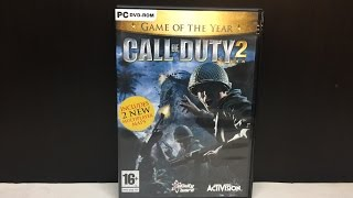 Call of Duty 2 Game of The Year Edition (PC DVD) Unboxing