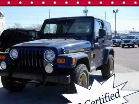 2006 Jeep Wrangler Golden Eagle Package For Sale