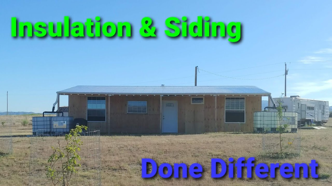 Download Insulation & Siding on our Shipping Container Cabin