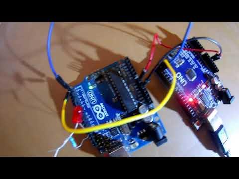 Communication Série(Rx,Tx) Entre Deux Arduino (darija)