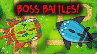 Boss Bloons in BTD5! | Bloonarius and Vortex New Bloons TD 5 Update!