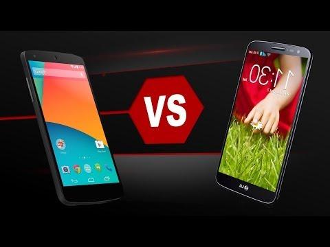 LG Nexus 5 Vs. LG G2