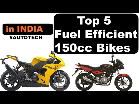 Top 5 Most Fuel Efficient 150cc Bikes in India | Best Mileage Bikes #AUTOTECH [ in HINDI ]