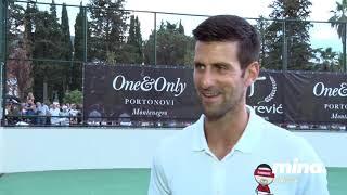 Intervju Novak Djokovic