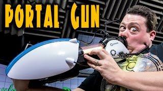 full scale replica portal gun w lights sounds portal gun in real life