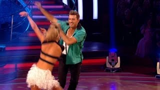 Ashley Taylor Dawson & Ola Jive to 'Johnny B Goode' - Strictly Come Dancing: 2013 - BBC One