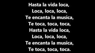 Repeat youtube video Fly Project - Toca Toca Lyrics Video
