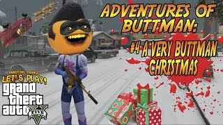 Adventures of Buttman #4: A VERY BUTTMAN CHRISTMAS (Annoying Orange GTA V)