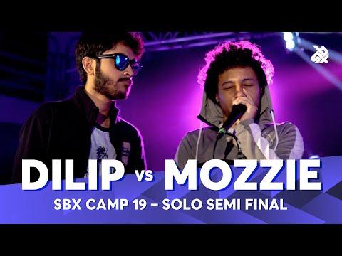 DILIP vs MOZZIE   SBX Camp Student Solo Battle 2019    Semi Final