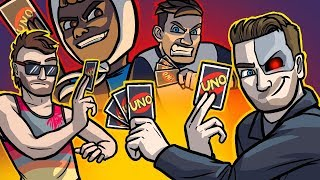 """From the UNO ROOKIE to the UNO """"NUMBER 1 WORLD RECORD CHAMPION"""" - UNO Funny Moments"""