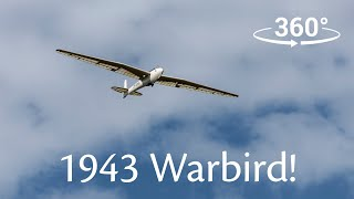 Flying a Luftwaffe 1943 Kranich Warbird in 360 | Flying Simon