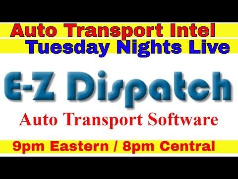 E-Z Dispatch Auto Transport Software EZ Fleet Dispatcher TMS Dashboard