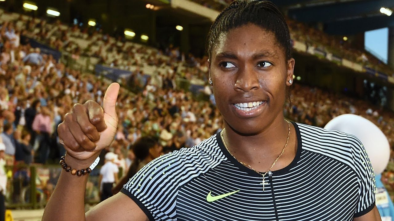 Caster Semenya Takes 400M Race with Furious Finish