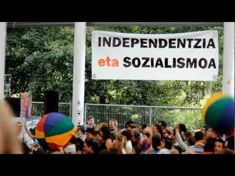 Zeberioko jaiak 2012, Euskal preso eta iheslariak etxera!.wmv