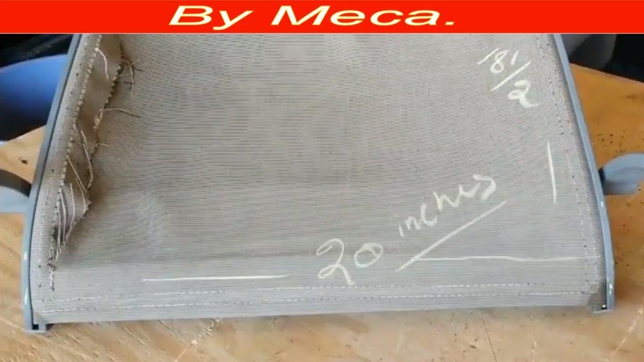 Una Aficionados Tapiceria Para Como De Facil Patio Silla Tapizar nX80kOwP