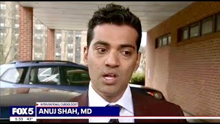 Coronavirus #COVID19 Cardiologist Dr. Anuj Shah Fox 5 NY