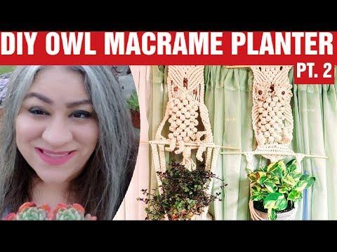 easy-diy-macrame-owl-plant-hanger-|-macrame-tutorial-pt.-2