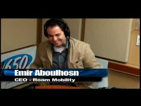 Roam Mobility CEO Emir Aboulhosn on Venture Capital Radio (May 8, 2012)