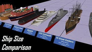 Ship Size Comparison 3D thumbnail