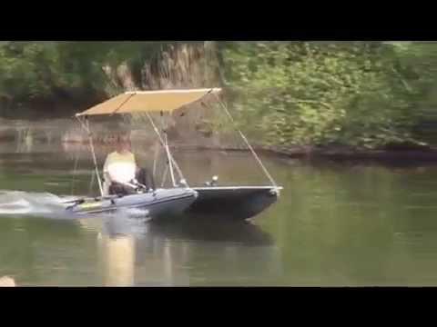 Лодка катамаран Boathouse