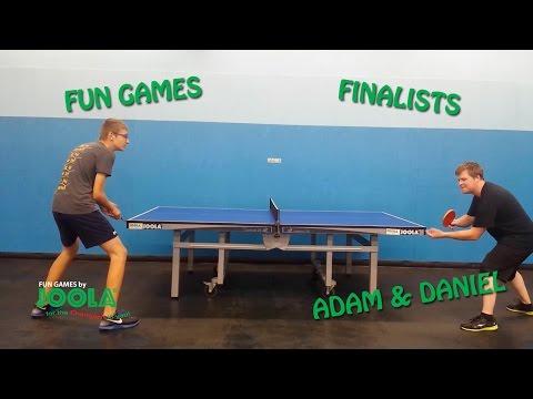 JOOLA Fun Games Winners: Adam Davis & Daniel Lukic