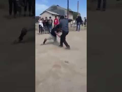 Gang fight LAMONT GANGSTER VS ARVIN GANGSTER