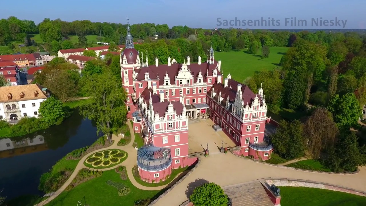 oberlausitz faszinierende perspektiven schloss f rst p ckler park bad muskau youtube. Black Bedroom Furniture Sets. Home Design Ideas