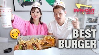 Download Mp3 Korean Girl's First Time Eating In-n-out Burger | Mukbang Vlog Gudang lagu