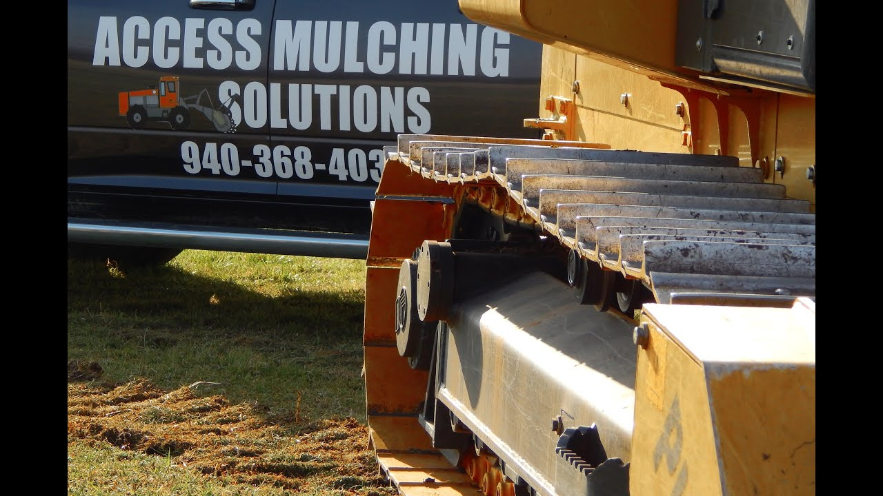 Coming soon! 4ore Golf in Lubbock TX!! Access Mulching Solutions - YouTube