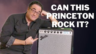 Can This Little 68 Fender Princeton Reverb Rock?