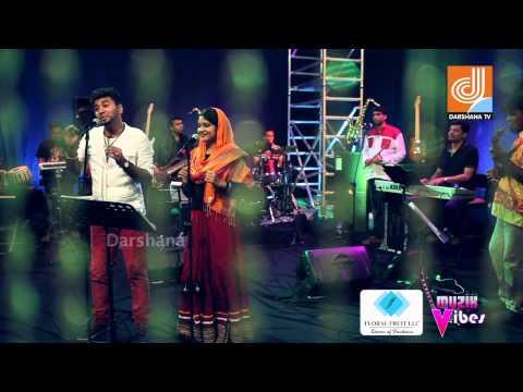 Dharaja Poomolalle Unplugged | Risham & Sumi | Muzik Vibes | Darshana TV Programme