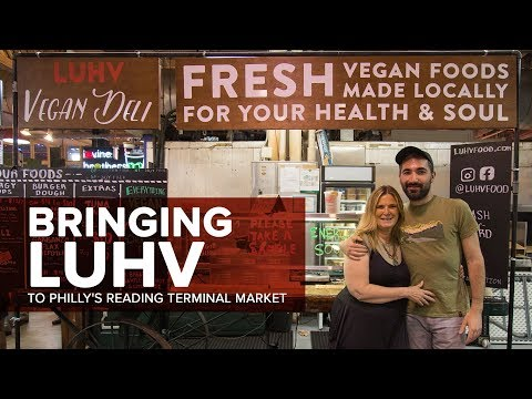 LUHV Vegan Deli at Philadelphia's Reading Terminal