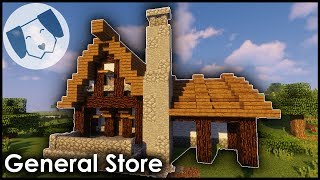Minecraft: Medieval General Store Tutorial! YouTube