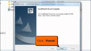 Procedure on how to Install USB LAN COM-NET001-M in Windows 7