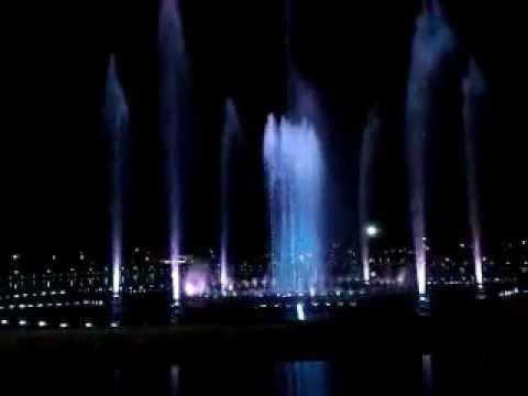 Musical Fountain - Taman Perdana Kota Kinabalu