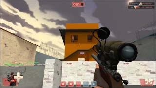 Team Fortress 2 - Server with 100% crits (Random hat drop included) [1080p HD]