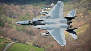 Mach Loop F15c - 493rd Grim Reaper Low Level